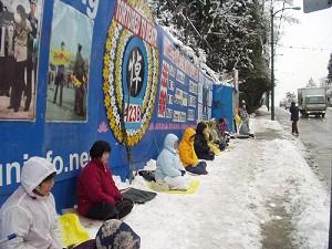 Falun Gong on Granville Street
