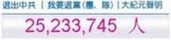 25 M chinese quitCCP